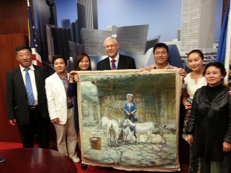 安长奇书法_USA Guangxinese Association---美国广西同乡联谊会
